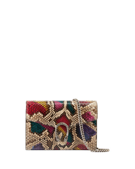 Gucci Dionysus Python Wallet on a Chain