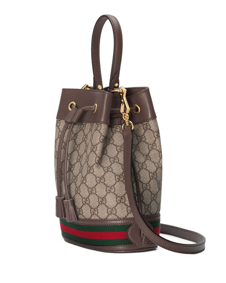 6a91be1fb Gucci Ophidia Small GG Supreme Bucket Bag | Neiman Marcus