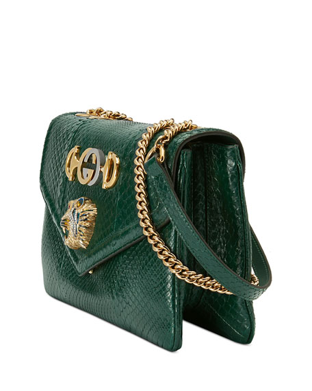 Gucci Lizard Embellished Shoulder Bag