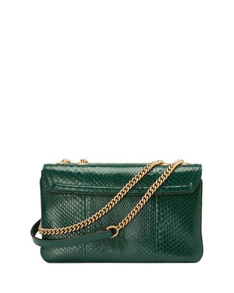 Gucci Lizard Embellished Shoulder Bag
