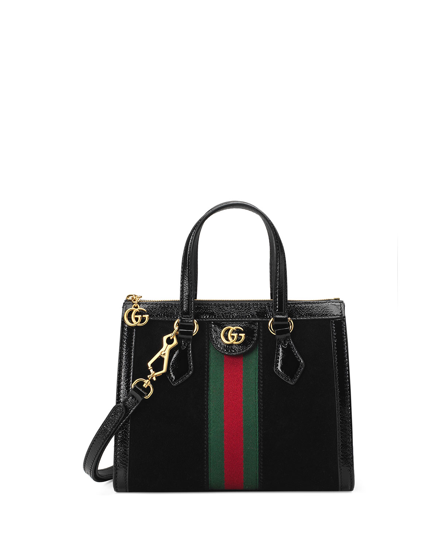 a3dda7327 Gucci Ophidia Small Suede Tote Bag | Neiman Marcus