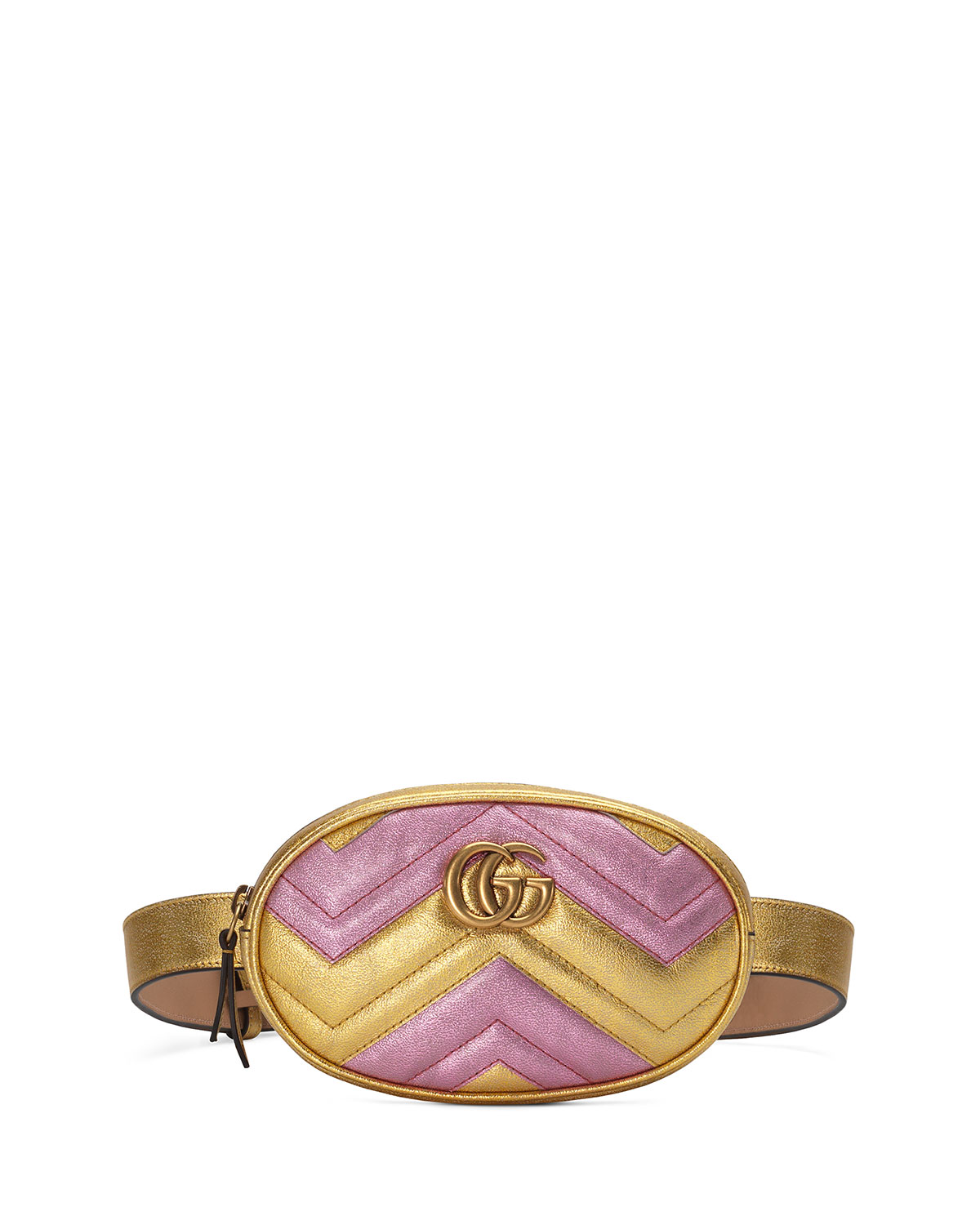 104e928902e30f Gucci GG Marmont Matelasse Leather Belt Bag | Neiman Marcus