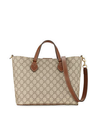 0060b1a44d54 Gucci Eden Small GG Supreme Tote Bag