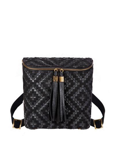 Kaja Whipstitched Crossbody Bag