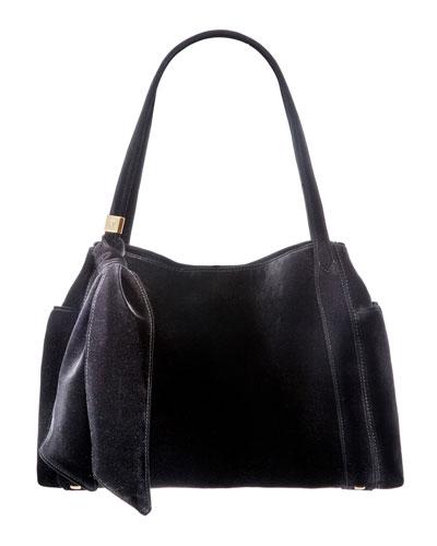 Velvi Framed Top Shoulder Bag