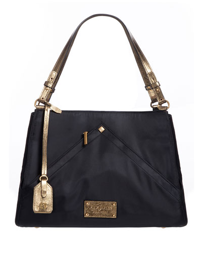 Page Two-Tone Shoulder Bag