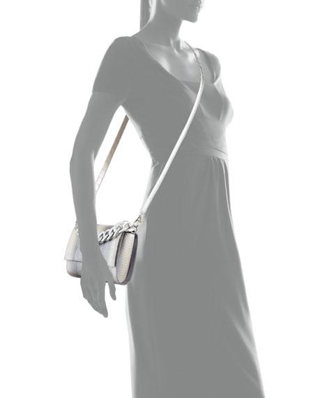 Nancy Gonzalez Carrie Small Ombre Snakeskin Clutch Bag