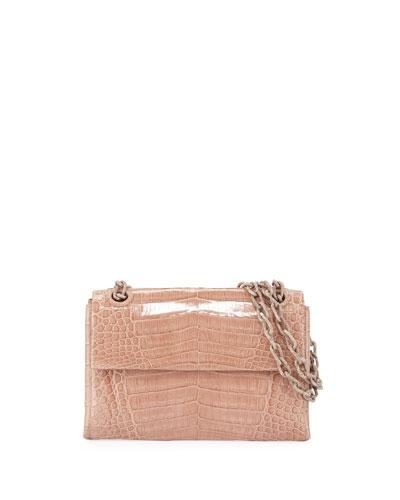 Madison Crocodile Small Chain Shoulder Bag