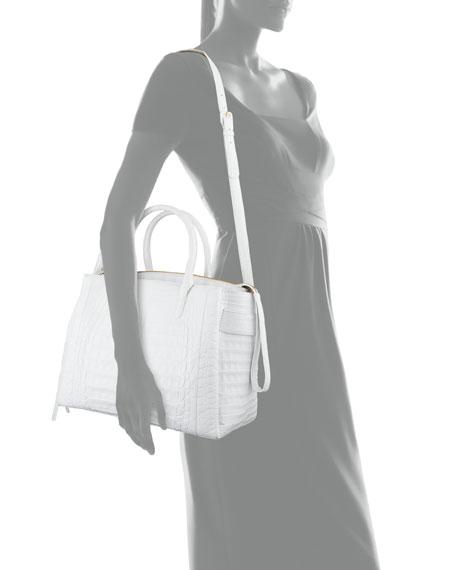 Nancy Gonzalez Cristie Medium Crocodile Tote Bag