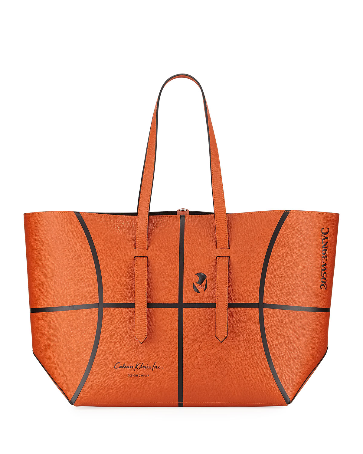 17e97ad9d0 CALVIN KLEIN 205W39NYC The Catch Basketball Tote Bag   Neiman Marcus