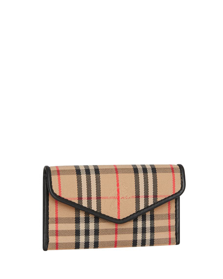 Burberry Small 1983 Check Envelope Cardcase