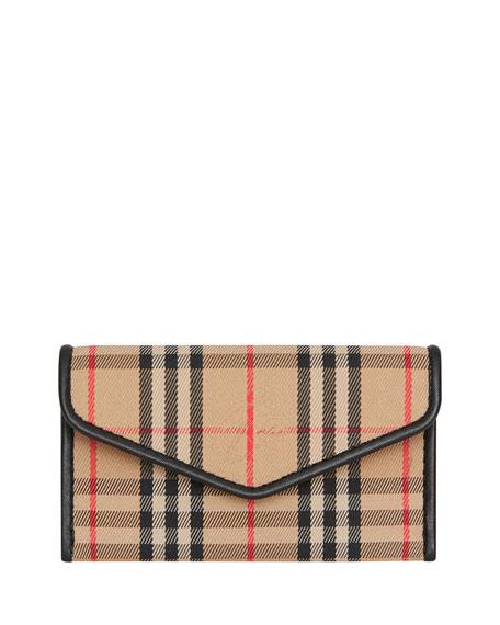 Burberry Bags Small 1983 Check Envelope Cardcase