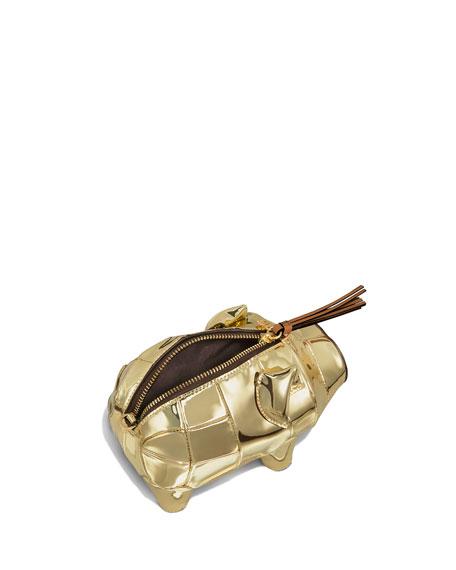 Tory Burch Mini Metallic Piggy Bank Bag