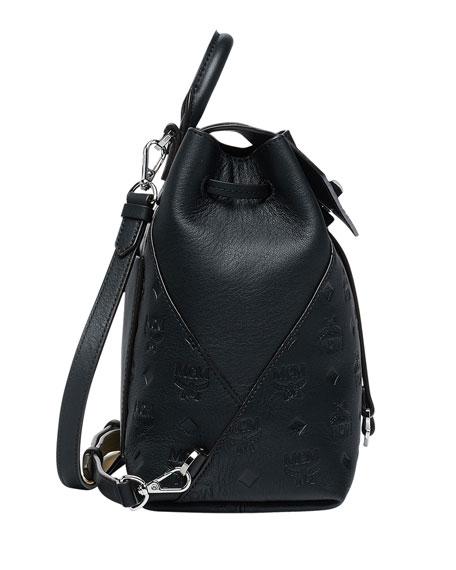 MCM Essential Monogram Leather Backpack