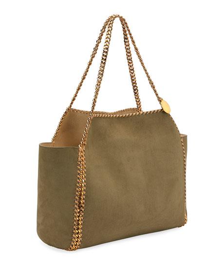 0ad4b09de Image 4 of 4: Stella McCartney Falabella Medium Reversible Shaggy Deer Tote  Bag