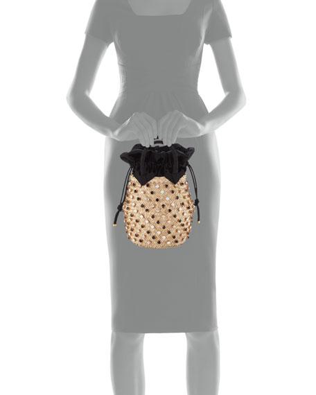 Le Nine Nina Twist Small Bucket Bag