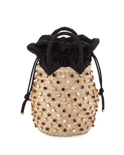Nina Twist Small Bucket Bag