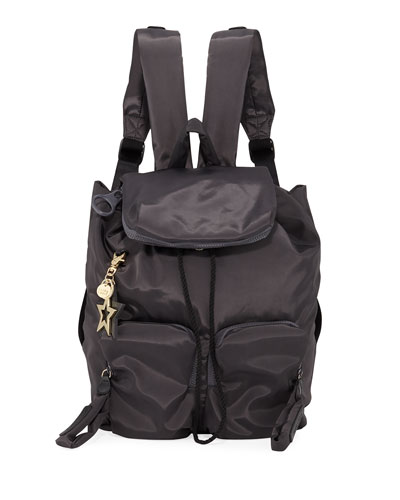 Joy Rider Two-Pocket Drawstring Backpack