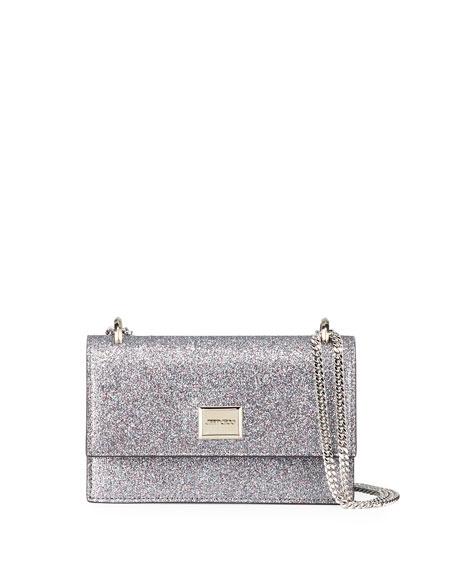 Jimmy Choo Leni Small Glittered Shoulder Bag