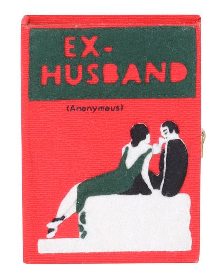 Olympia Le-Tan Ex Husband Small Book Clutch Bag