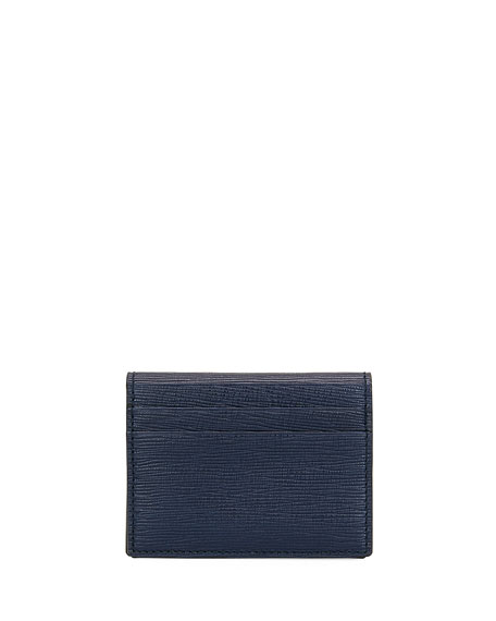 Bally Men's Balder Calf Leather Card Case