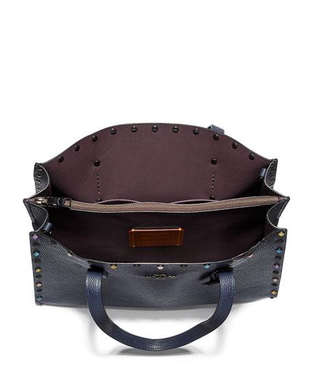 Coach 1941 Charlie 40 Rivets Carryall Tote Bag