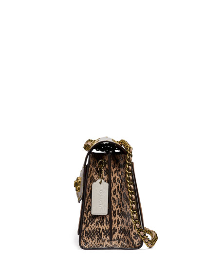 Coach 1941 Parker Two-Tone Leather Shoulder Bag