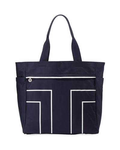 Sport T Large Nylon Tote Bag