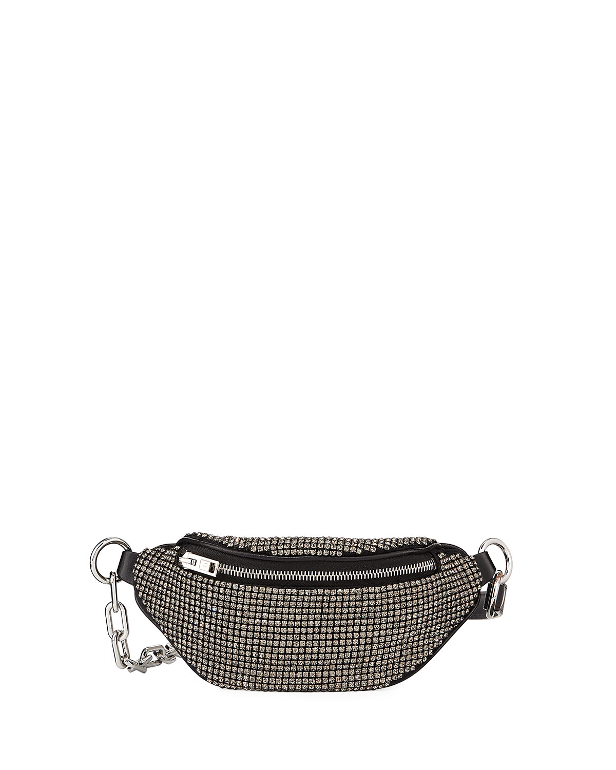Alexander Wang Attica Rhinestone Multi-Pocket Belt Bag