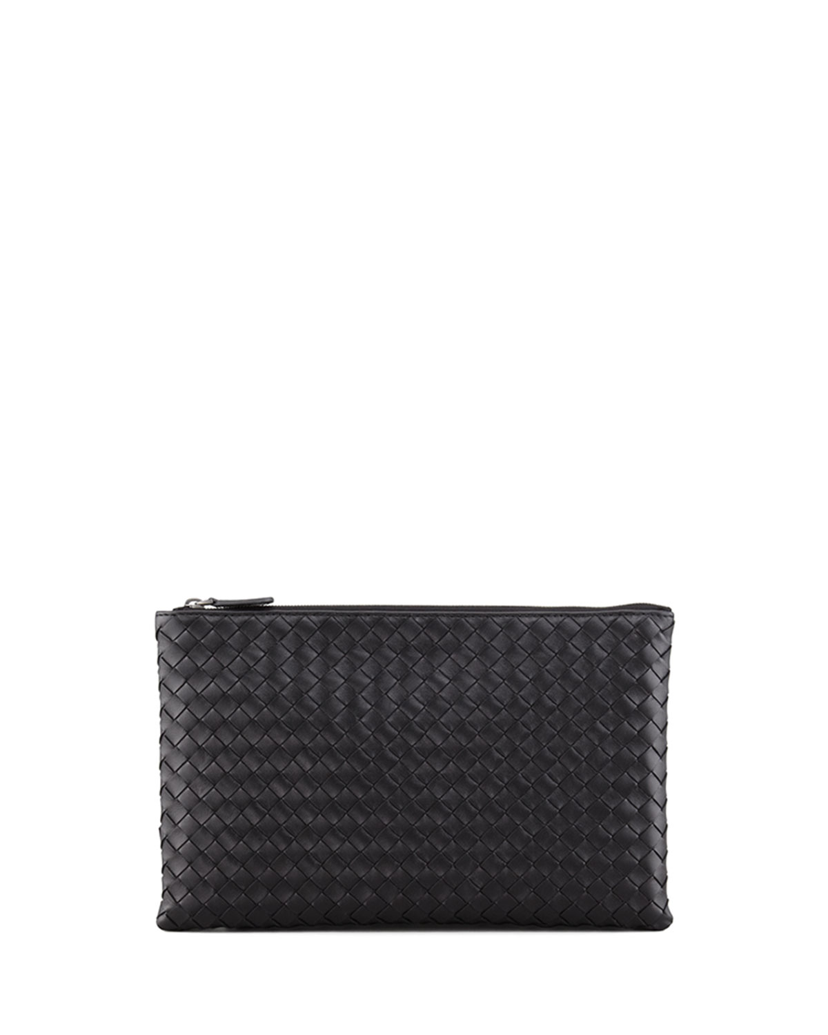 6361a0fd28 Bottega Veneta Extra Large Flat Cosmetics Bag