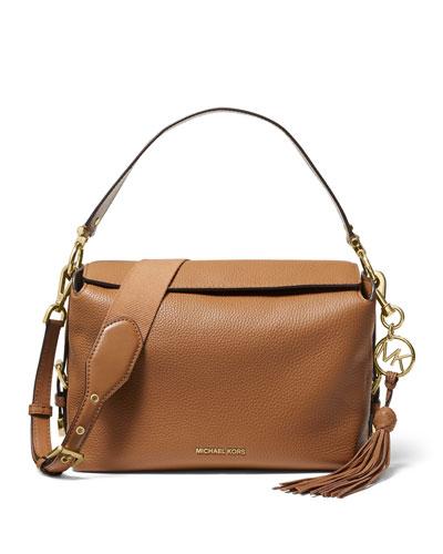 Brooke Medium Leather Satchel Bag