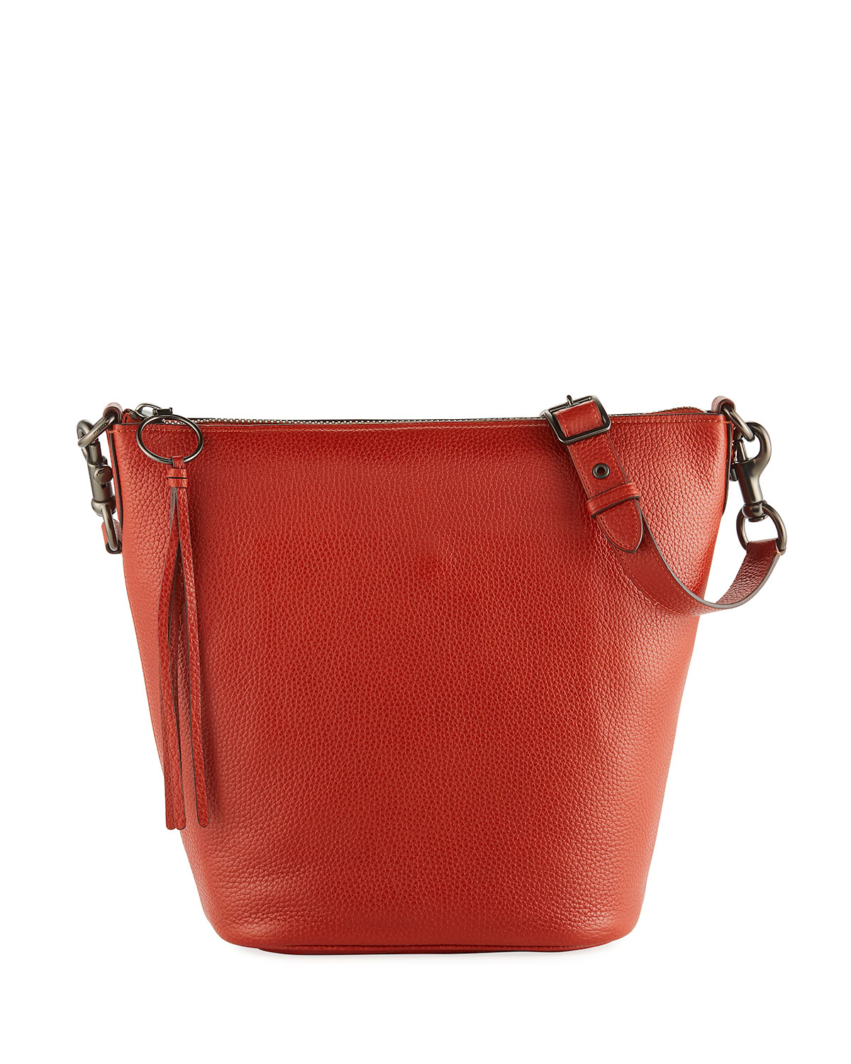Coach 1941 Glove-Tanned Pebbled Leather Bucket Bag  bafd3071dffb6