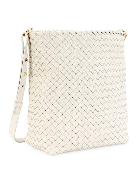 Bottega Veneta Intrecciato Cabat Leather Hobo Bag