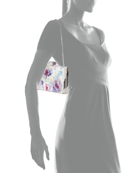 Judith Leiber Couture Summer Garden XS Crystal Clutch Bag