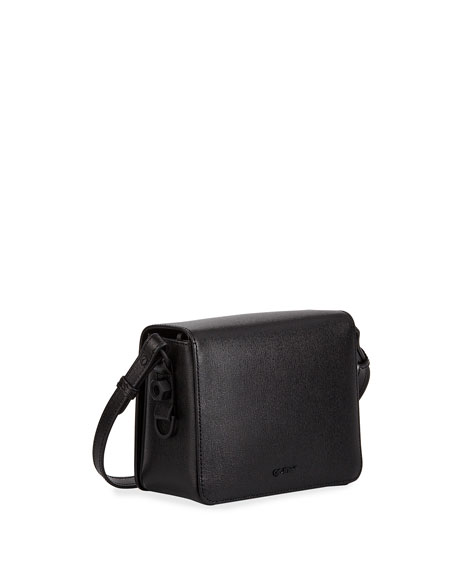 Off-White Diagonal Small Leather Shoulder Bag