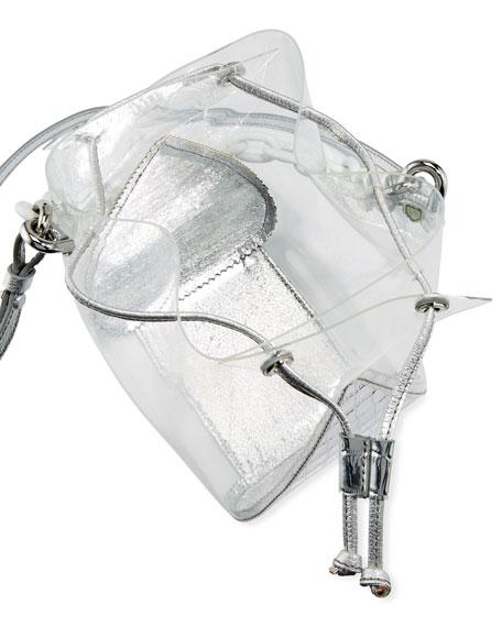 The Volon Mani Mixed PVC Bucket Bag