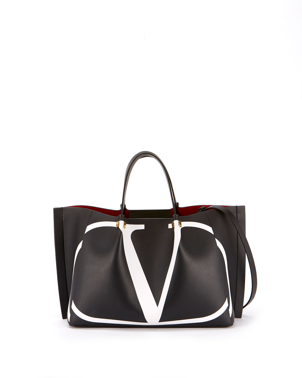 774534dec8c VLOGO Escape Medium Leather Tote Bag