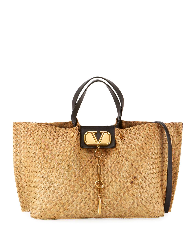 6012bd2092b4 Valentino Garavani Go Logo Escape Medium Tote Bag