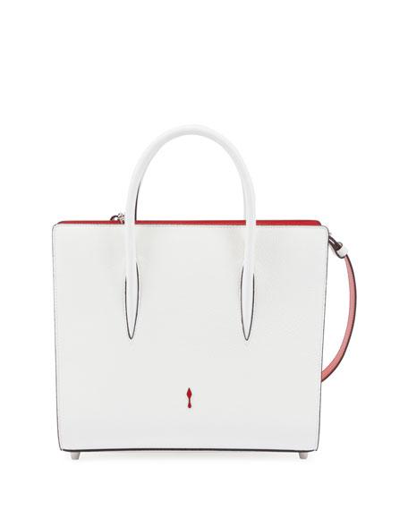 Christian Louboutin Paloma Medium Spike Leather Tote Bag