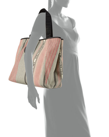 Stella McCartney Patchwork Small Carryall Tote Bag