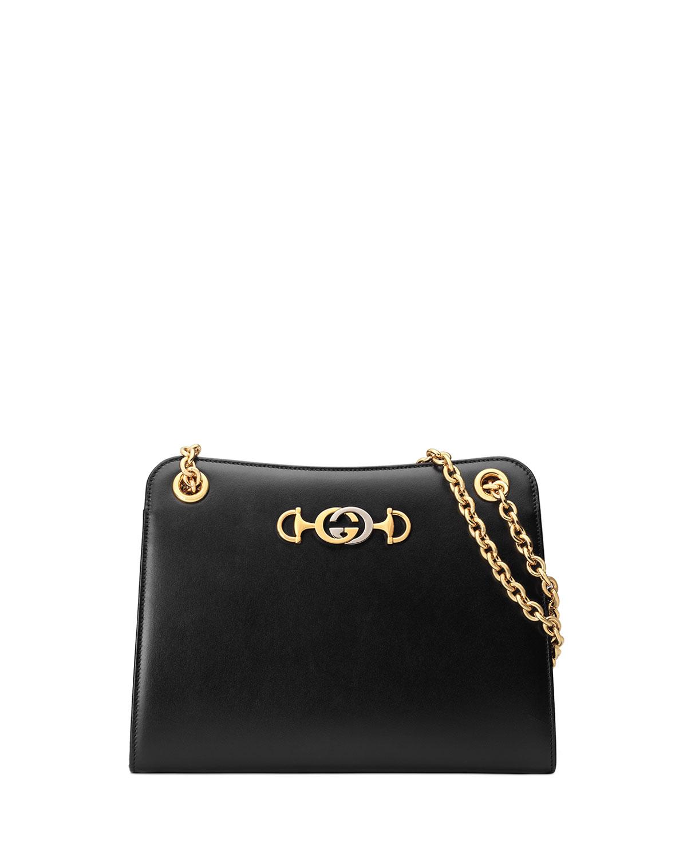 5d1e6caf8cc6 Gucci Gucci Zumi Smooth Small Tote Bag | Neiman Marcus