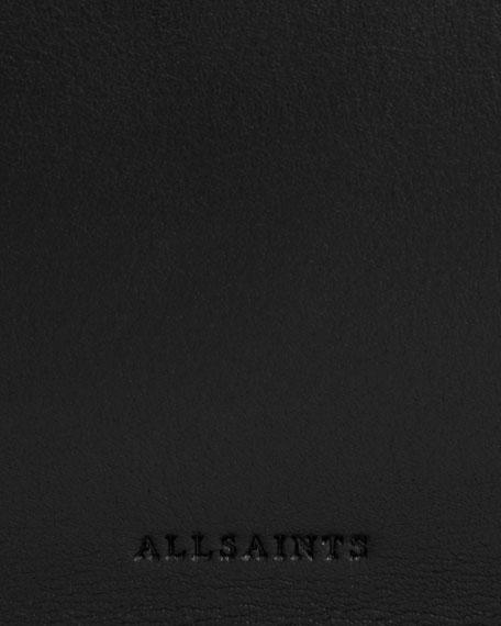 AllSaints Captain East/West Medium Leather Tote Bag
