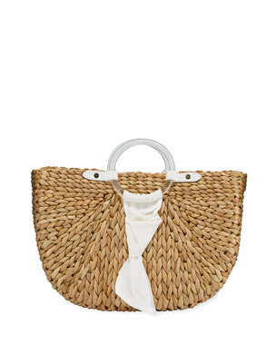 Pamela Munson Exclusive Bimini Crescent Tote Bag