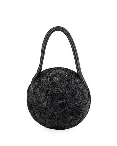 Saba Woven Large Basket Bag