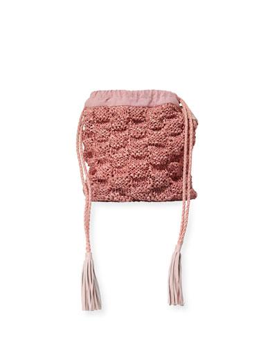 Adia Hand-Knitted Bucket Bag