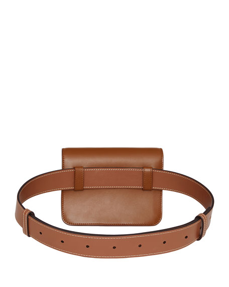 Burberry TB Monogram Leather Belt Bag