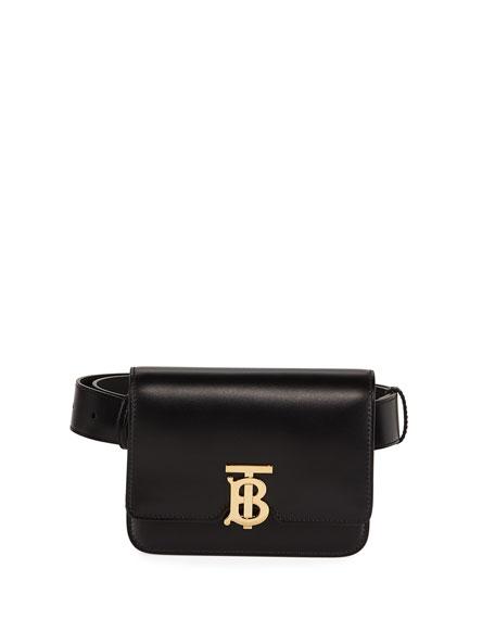 Burberry TB Monogram Leather Belt Bag