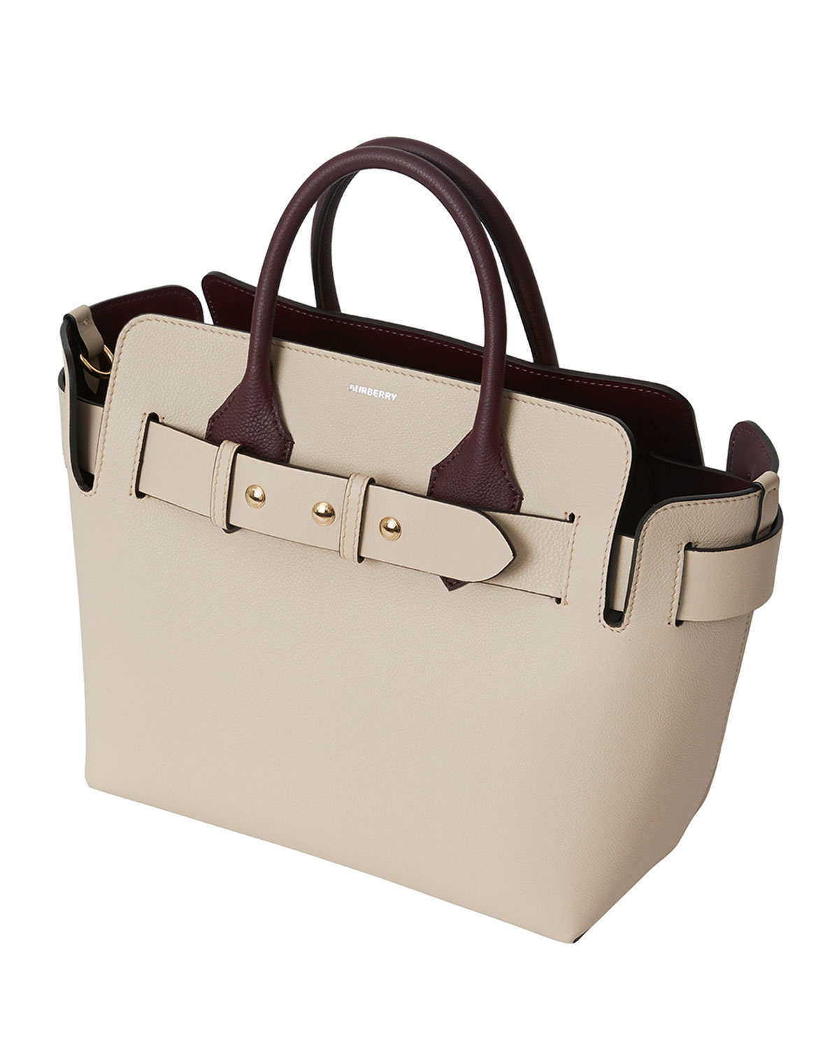 Marais Small Belted Satchel Bag by Burberry