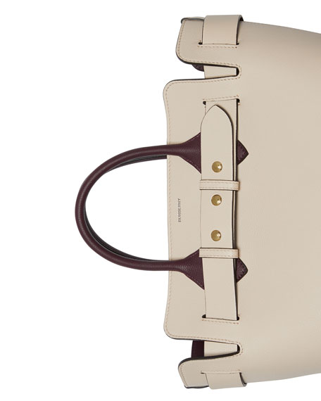 Burberry Marais Small Belted Satchel Bag