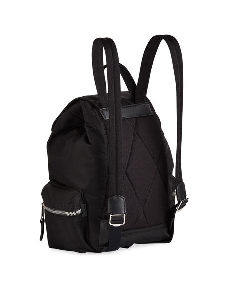 Burberry Nylon Medium Drawstring Backpack